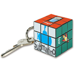 Micro Cube Game Keychain