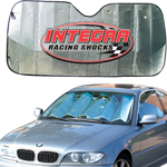 Mylar Poly Foam Sunshade