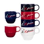 12 Oz Stackable Ceramic Mug