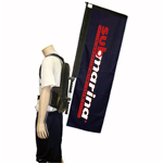 Walking Banner Displays