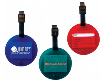 Round Translucent Luggage Tag