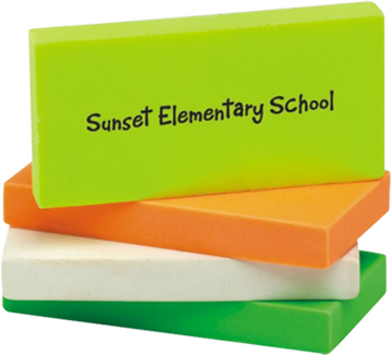 Rectangular Eraser Wedge
