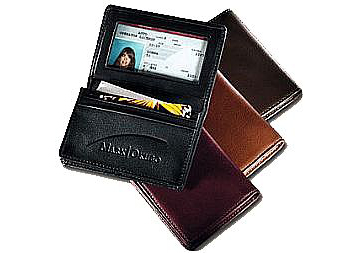 Deluxe Gussetted Bus Card Case